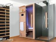 Sauna with shower CUNA DOCCIA 172x205 - GRUPPO GEROMIN