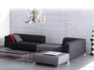 Corner sectional fabric sofa FAYA LOBI - LEOLUX