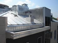 Continuous metal laminate for roof KAYAK® - ISCOM