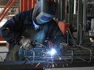 Steel bar, rod, stirrup for reinforced concrete Acciaio lavorato per c.a. - PROGRESS