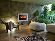 Reconstructed stone Fireplace Mantel MOON - MCZ GROUP