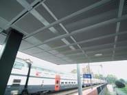Expanded mesh ceiling tiles Ceiling tiles - ITALFIM