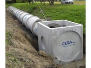 Sewer pipe and component WATER MAINS GRID COMPONENT - CEDA