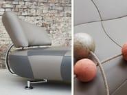 Leather armchair KIKKO - LEOLUX