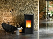 Pellet stove for air heating SAGAR - MCZ GROUP