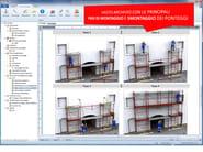 Scaffolding and erection, use, and dismantling report SICUREZZA PONTEGGI - Edilizia Namirial - Microsoftware - BM Sistemi