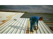 Roof panel in opaque plastic laminate ONDUCLAIR COLOR | Opaque plastic laminate wall panel - ONDULINE ITALIA