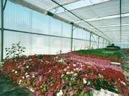 Roof panel in translucent plastic laminate ONDUCLAIR PLR | Roof panel in translucent plastic laminate - ONDULINE ITALIA