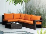Sectional polyethylene garden sofa LINK | Sectional garden sofa - KENNETH COBONPUE