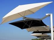 Offset adjustable Garden umbrella PARAFLEX MONOFLEX - Umbrosa
