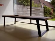 Wooden dining table BROADWAY - INTERNI EDITION