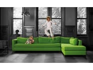 Corner fabric sofa NEW PORT - INTERNI EDITION