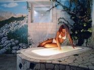 Built-in whirlpool bathtub Bathtub - Happy Sauna