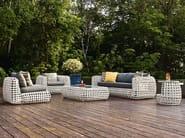 Rattan garden side table MATILDA   Garden side table - KENNETH COBONPUE