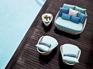 Polyethylene garden side table OASIS | Garden side table - KENNETH COBONPUE