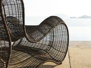 Polyethylene armchair PIGALLE | Armchair - KENNETH COBONPUE