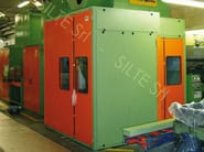 Sound insulating and sound absorbent cabin and screen FLEXIFON - SILTE