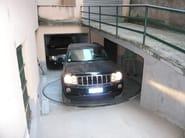 Rotating, moving platform for car Rotating platform - GREEN PARK