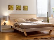 Wooden double bed SHANNON | Bed - GAUTIER FRANCE