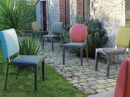 Taupe oval chair ADULIS | Chair - GAUTIER FRANCE