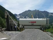 Dosage system mobile horizontal silos EUROSILO - SAMI