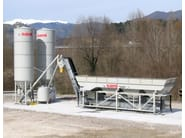 Control system for dosage and mixing mobile dry batching plant TECNO - SAMI