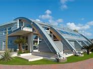 Titanium-Zinc Metal sheet and panel for roof Titanium-Zinc Continuous metal laminate for roof - RHEINZINK Italia
