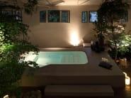 Overflow hot tub 4-seats POOL FARAWAY - Kos by Zucchetti