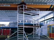 Mobile scaffolding for construction site TEMPO TECH S - SVELT