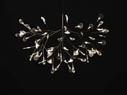 Adjustable metal pendant lamp HERACLEUM - Moooi©