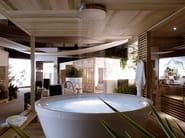 Round methacrylate bathtub GEO 180 - Kos by Zucchetti