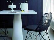 Sled base carbon fibre chair CARBON CHAIR - Moooi©
