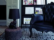 Upholstered armchair with armrests SMOKE CHAIR - Moooi©