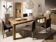 Upholstered leather chair D20 | Chair - Hülsta-Werke Hüls