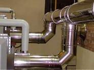 Stainless steel flue EASINOX - ALA - Distributore POUJOULAT