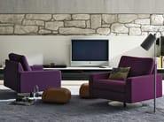 Swivel armchair with armrests CONSETA | Swivel armchair - COR Sitzmöbel Helmut Lübke