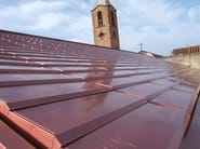 Metal sheet and panel for roof LARES® Skin - MAZZONETTO