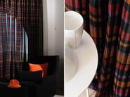 Fire retardant polyester fabric for curtains MANHATTAN - Élitis