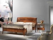 Cherry wood double bed CORNUCOPIA - Carpanelli Classic