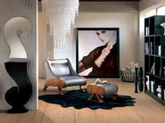 Armchair with headrest CONTEMPORARY | Armchair - Carpanelli Contemporary
