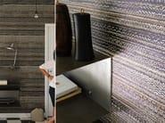 Relief vinyl wallpaper AZZURRO - Élitis