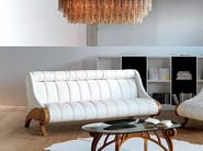 Wooden sofa with headrest CONTEMPORARY | Sofa - Carpanelli Contemporary