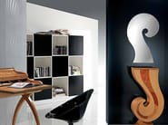 Wall-mounted mirror PUNTO INTERROGATIVO   Mirror - Carpanelli Contemporary