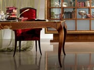Extending rectangular walnut table NEW CLASSIC | Table - Carpanelli Classic