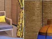 Indoor natural fibre wall tiles NATURE PRECIEUSE - Élitis