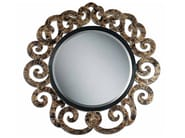 Wall-mounted framed mirror NOVECENTO | Wall-mounted mirror - Carpanelli Classic