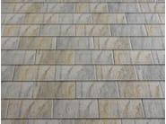Ceramic slate roof tile ARDESIA CERAMICA 25x40 - ARDESIE CERAMICHE