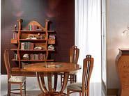 Walnut bookcase FLOREALE | Bookcase - Carpanelli Classic