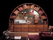 Bookcase Display cabinet ARCO - Carpanelli Classic