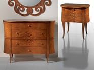 Bedside table with drawers NOVECENTO | Bedside table with drawers - Carpanelli Classic
